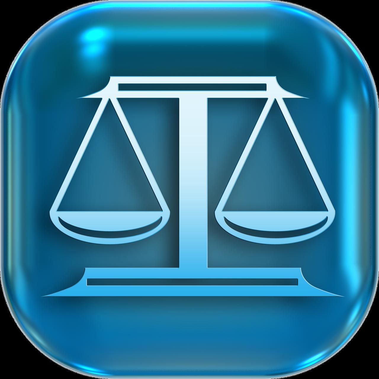 Icons Symbols Horizontal Justice  - geralt / Pixabay